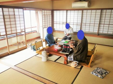 2014 酒田屋旅館 3人部屋