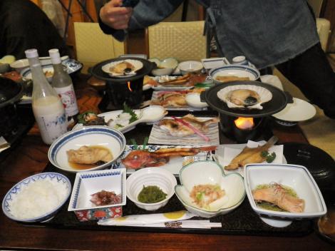 2014 酒田屋旅館 夕食