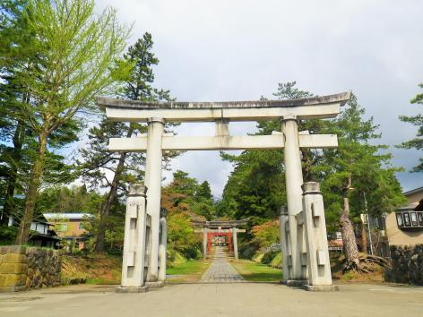 岩木山神社 入口