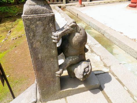 岩木山神社 狛犬 左
