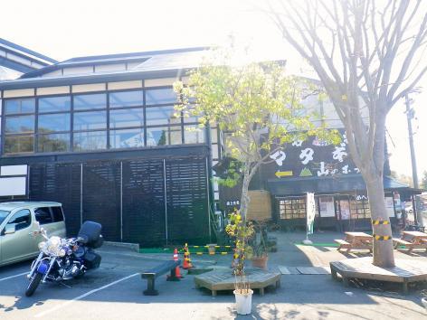 嶽温泉 山のホテル 駐車場