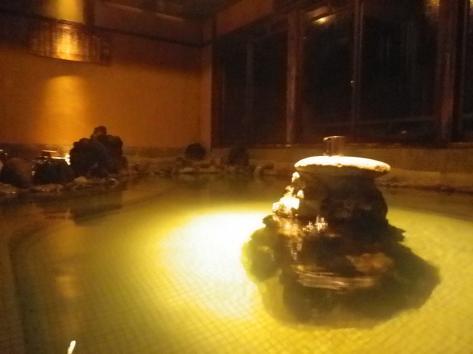 栃尾又温泉 したの湯 夜