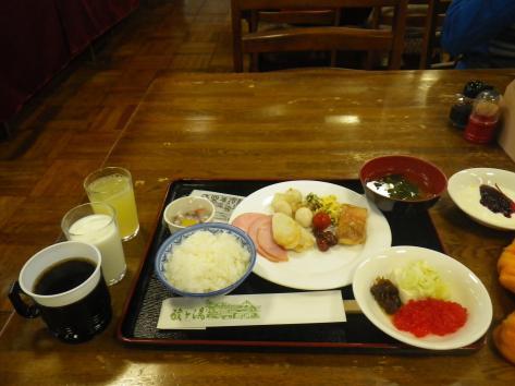 酸ヶ湯温泉 朝食