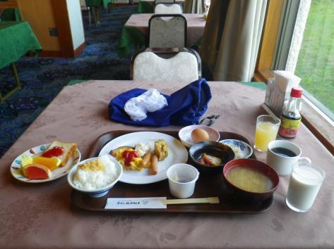 ホテル瀬波観光 朝食