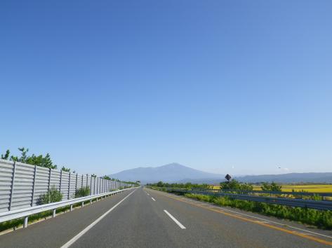 日本海東北自動車道 鳥海山