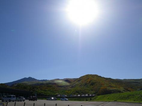 鉾立展望台 鳥海山