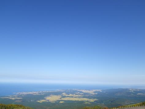 鉾立展望台からの眺め