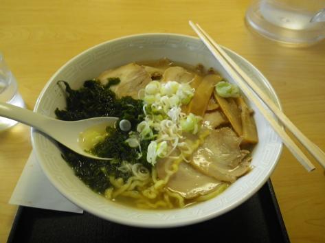 中華そば七郎 チャーシュー麺750円+しお中華50