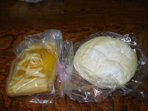道の駅 鳥海ふらっと ベーカリー工房ほっほ ハイジの白いパン アップルパイ