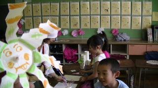 小学祭り風車