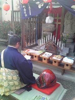 H26境沢町地蔵尊祭礼
