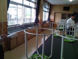 墨坂中学校理科室