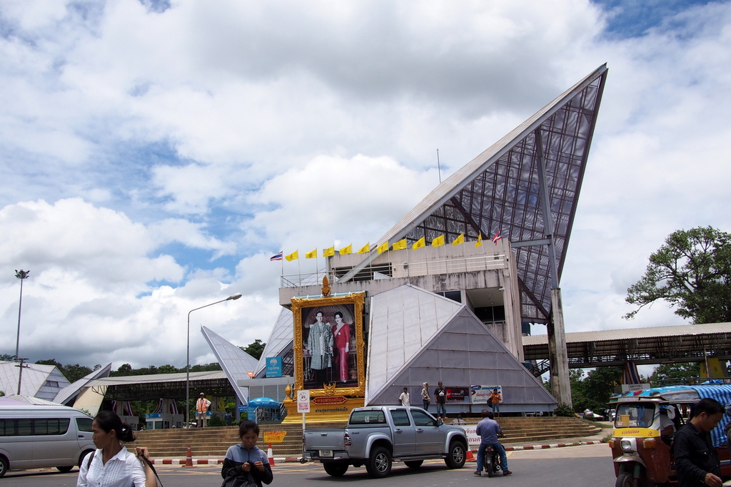 ■ タイ〜ラオス 歩いて国境を越える / ラオス国境越え その4