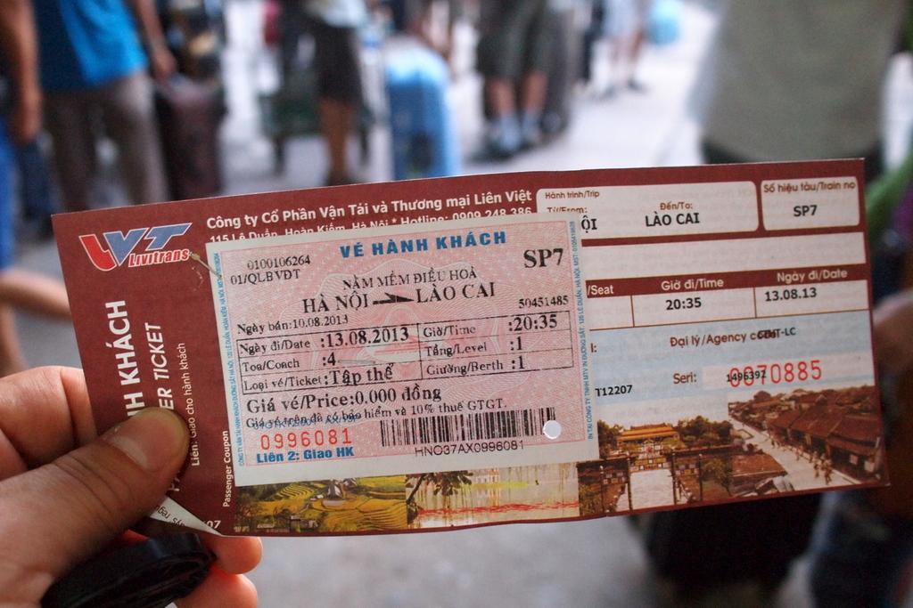 ■ Hanoi -  Lao Cai  寝台列車 / Livitrans Express