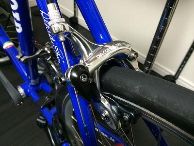 ブレーキ換装 DIA-COMPE BRS101