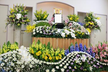 家族葬花祭壇男性