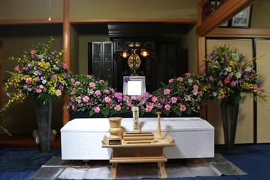自宅葬花祭壇9429