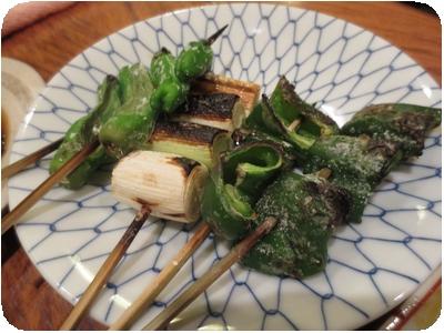 野菜盛り焼き