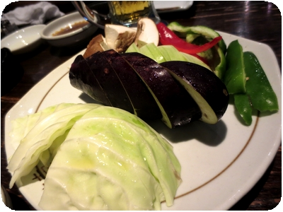 野菜焼盛り