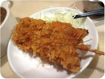 豚串カツ(200円)