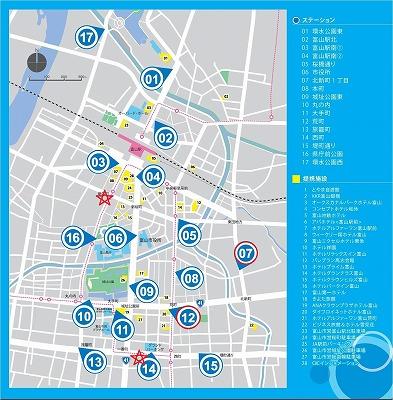 stationmapガラス
