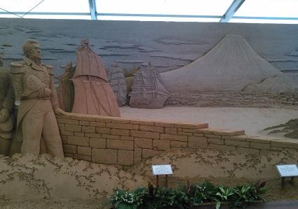 砂の彫刻展7