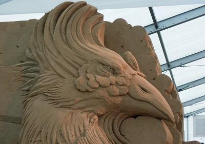 砂の彫刻展1