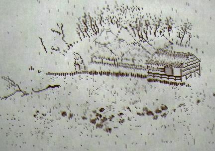 ピクセル山水画