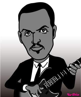 James Jamerson funk brothers caricature