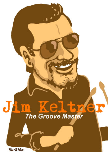 Jim Keltner caricature