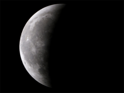 【皆既月食2014年10月08日】20時57分