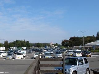 道の駅安達 駐車場