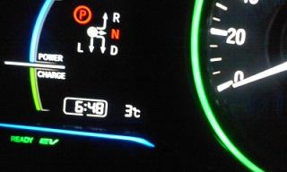 今日は夜でも3℃