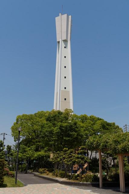 公団国分団地の給水塔