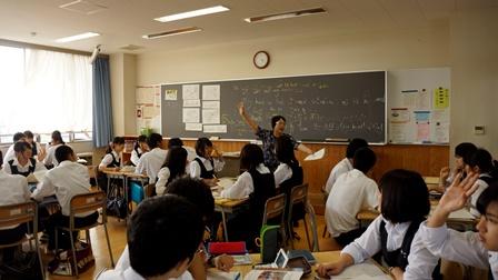 不動岡高校英語の授業01