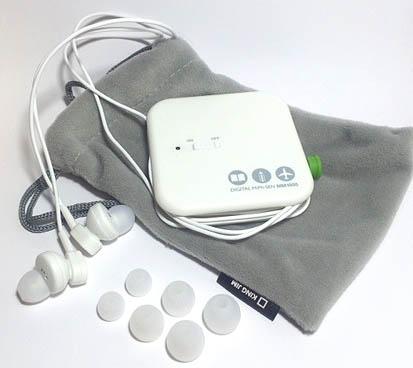 キングジム製デジタル耳せんの写真