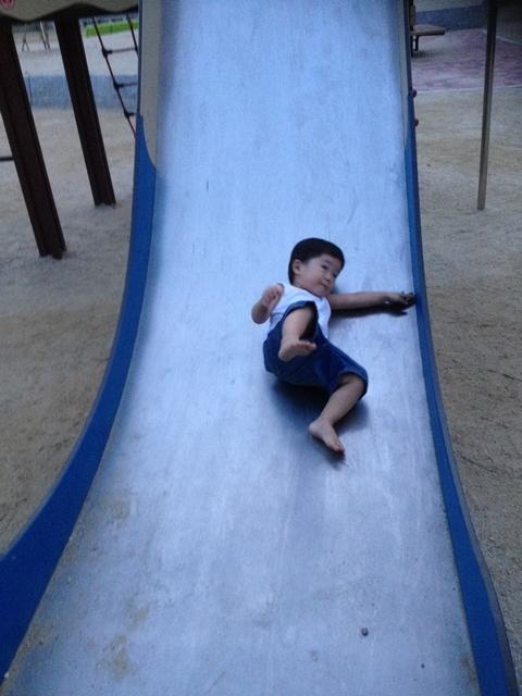 $「あるがままに生きる」-公園