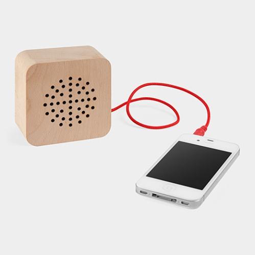 Wood Speaker(ウッド スピーカー) FormNation,2013 KIKKERLAND (キッカーランド)