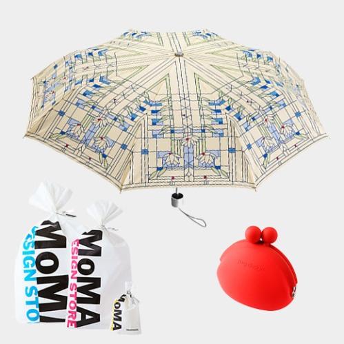MoMA スイレン アンブレラ,折りたたみギフトセット