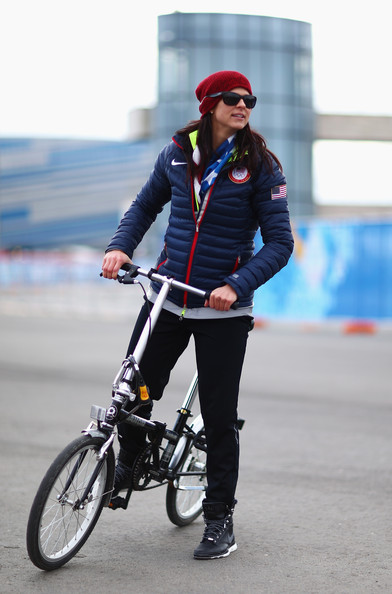 Speed skater Brittany Bowe of the United States