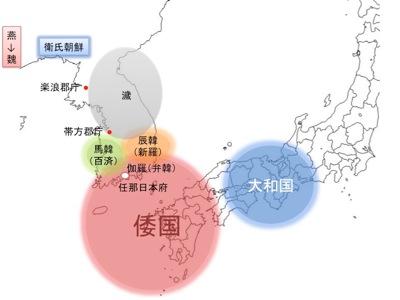 古代の朝鮮半島と日本
