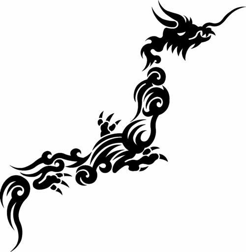 日本列島 龍