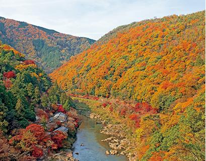 小倉山の紅葉