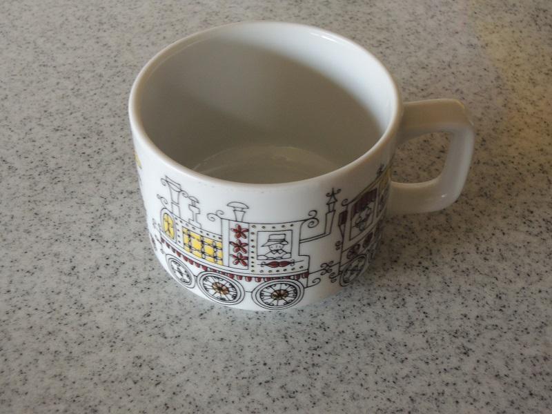 子どもの時に使っていたマグカップ