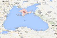 The_Crimean_peninsula_and_the_Black_Sea イスタンブールとクリミア半島の直線距離はおよそ600km