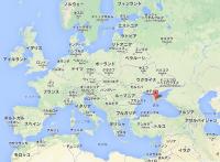 The_Crimean_peninsula_and_the_Black_Sea クリミア半島周辺の国々とヨーロッパ諸国