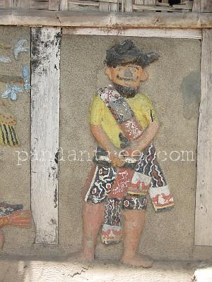 スンバ島の織りの村の風景1
