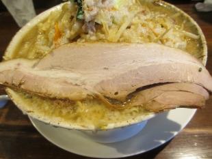 きっぷう 野菜ラーメン大盛 チャーシュー