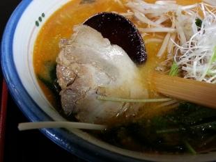 たつみ食堂 担々麺 (2)