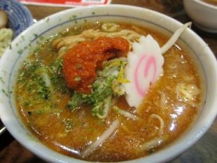 ちゃーしゅうや武蔵亀田 カラシ味噌つけ麺 つけ汁